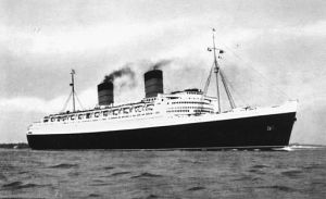 The Queen Elizabeth courtesy Wikimedia commons