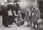 Children  evacuated during the Second World War in England
