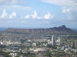 Diamond Head Crater, Honollulu Hawaii Courtesy Wikimedia Creative Commons Attribute Share Alike 3.0
