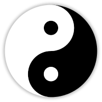 Yin and Yang Courtesy Wikimedia Commons