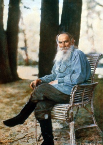 Leo Tolstoy shortly before his 80th birthday courtesy Wikimedia Commons