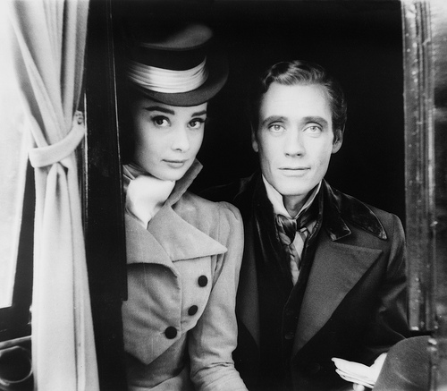 Audrey_Hepburn_and_Mel_Ferrer_1955